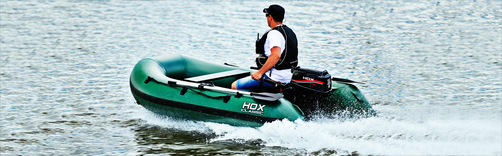 какой лучше лодочный мотор для надувной лодки